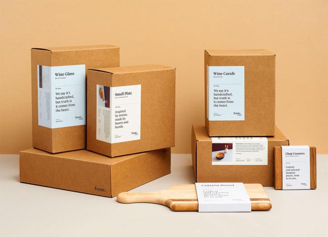 Hộp giấy ship hàng online - xu hướng đóng gói hàng hiện đại
